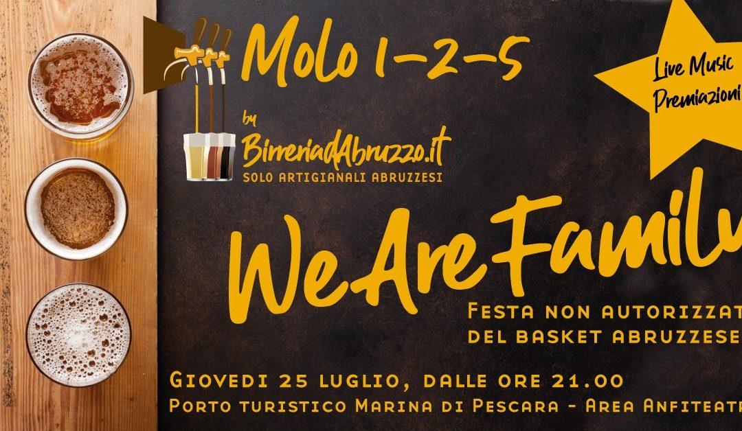 We are family! Festa non autorizzata del basket abruzzese!